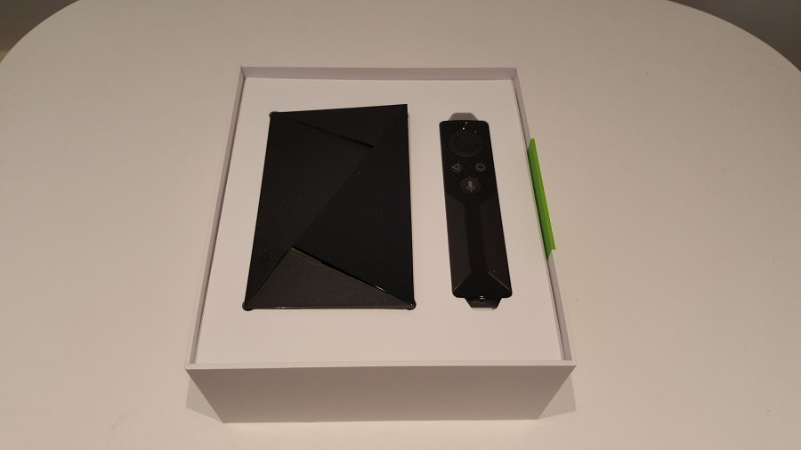 test nvidia shield cloud gaming unboxing packaging ouvert