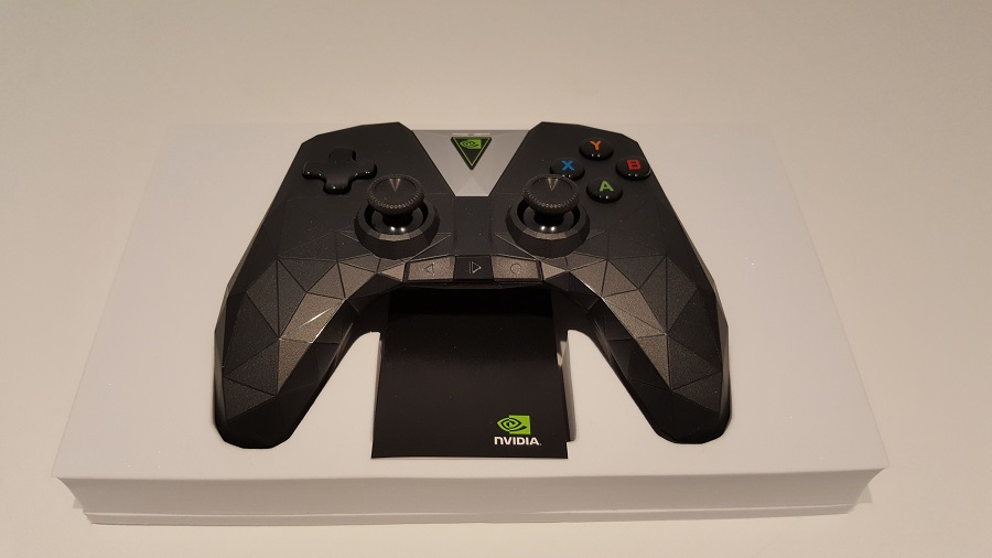 test nvidia shield cloud gaming unboxing manette manuel