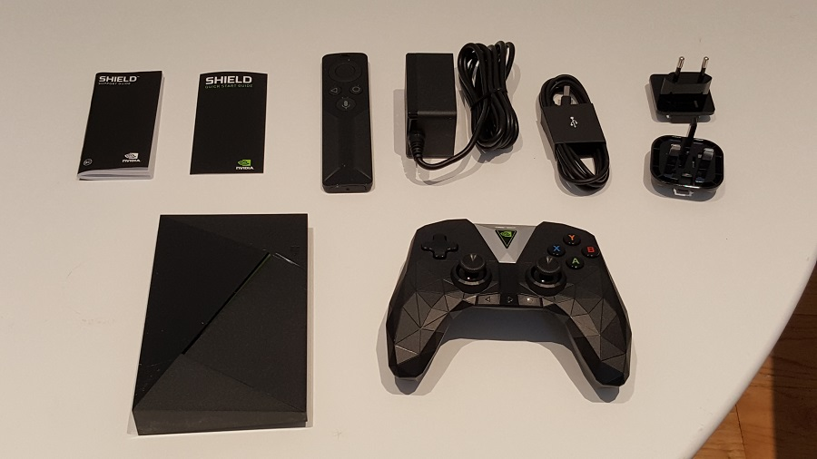 test nvidia shield cloud gaming unboxing matériel