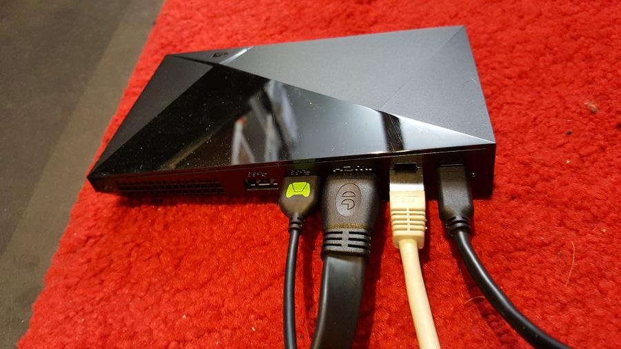 test nvidia shield cloud gaming utilisation fonctionnalités branchement