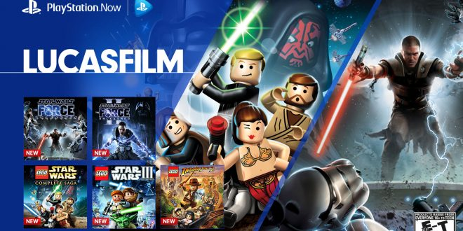 playstation now star wars lucasfilm