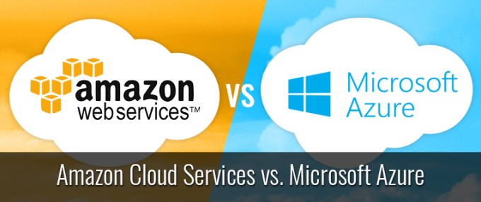 amazon vs microsoft cloud
